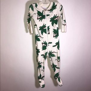 Hanna Andersson Pajamas - Hanna Andersson  Pajamas Organic Footed Dragons